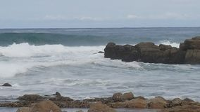 Ozean Südafrika stockfotos