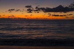 Ozean-Sonnenaufgang Lizenzfreies Stockbild