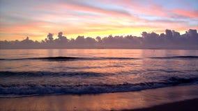 Ozean-Sonnenaufgang 1 stock footage