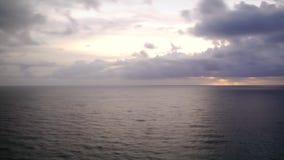 Ozean-Sonnenaufgang Timelapse 2 stock footage