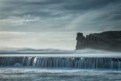 Ozean-Spray stockbild
