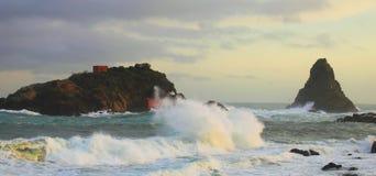 Ozean-Sturm Lizenzfreie Stockfotos