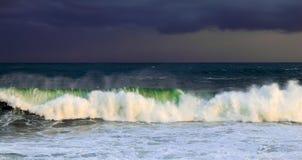 Ozean-Sturm Stockfoto