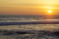 Ozean Sunset stockfotografie
