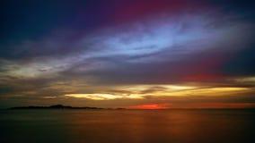 Ozean Sunset stock video