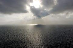 Ozean Sunset Lizenzfreie Stockfotografie