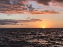 Ozean Sunset Stockbild