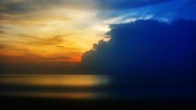 Ozean Sunset stock footage