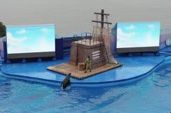 Ozean-Theater Stockfoto