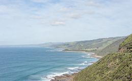 Ozean trifft Australien Lizenzfreies Stockbild