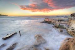 Ozean, turubulent Waschmaschine der Mutter Naturen stockbilder