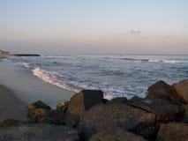 Ozean und Felsen Lizenzfreie Stockfotos
