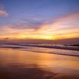 Ozean und Sonnenuntergang Stockfotos