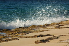 Ozean und Ufer lizenzfreies stockbild