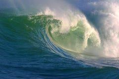 Ozean-Welle des Wassers Lizenzfreie Stockfotos