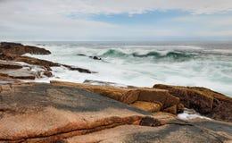Ozean-Wellen Stockbild