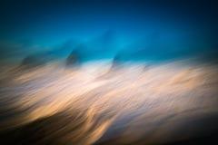 Ozean-Zusammenfassung Stockfotos