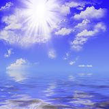 Ozeanbeschaffenheit Stockfotografie
