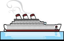 Ozeandampfer #3 Lizenzfreies Stockbild