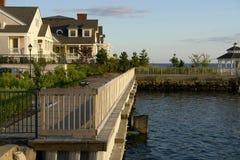 Ozeanfrontseiteneigentumswohnungen Stockfotos