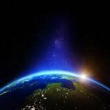 Ozeanien- und Australien-Nacht Lizenzfreies Stockbild