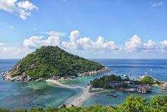 Ozeanische Inseln Stockfotografie