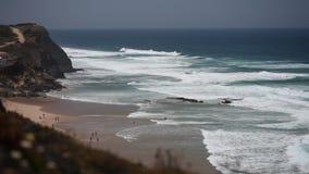 Ozeanküste stock footage