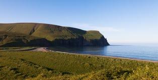 Ozeanküste, Kommandant Islands stockfotografie