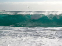 Ozeanleistung Lizenzfreies Stockfoto
