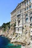 Ozeanographisches Museum in Monaco Stockfotografie