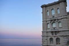 Ozeanographisches Museum in Monaco Stockfotos