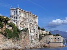Ozeanographisches Museum von Monaco Lizenzfreie Stockbilder