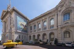 Ozeanographisches Museum von Monaco Lizenzfreie Stockfotos