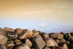 Ozeansteine lizenzfreie stockfotografie