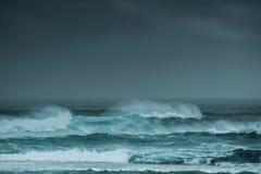 Ozeansturm Margaret River Western Australia Lizenzfreies Stockbild