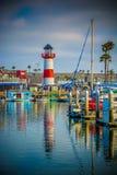 Ozeanufer-Hafen Lizenzfreies Stockbild
