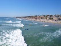 Ozeanuferstrand Lizenzfreies Stockbild