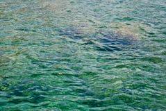 Ozeanwasserhintergrund Lizenzfreies Stockbild
