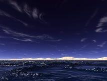 Ozeanwellen stock abbildung