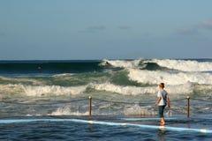 Ozeanwellen Lizenzfreies Stockfoto