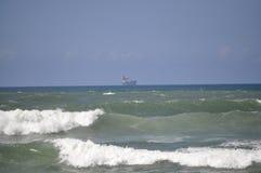 Ozeanwellen Casablanca Lizenzfreie Stockfotos