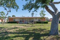 Ozie B Edilizia popolare del villaggio di Gonzaque nella parte di watt di Los Angeles Fotografia Stock