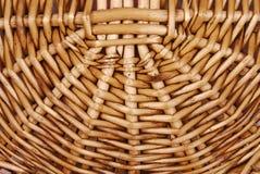 Łozinowa koszykowa tekstura Zdjęcia Stock