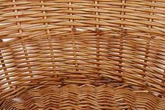 Łozinowa koszykowa tekstura Fotografia Stock