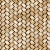 Łozinowego rattan bezszwowa tekstura dla CG Obrazy Royalty Free
