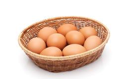 łozinowi koszykowi jajka Zdjęcia Stock