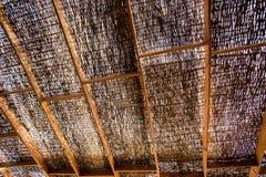 Łozinowy dach Zdjęcia Royalty Free