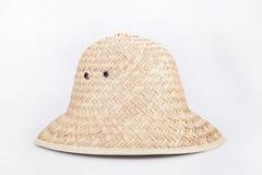 Łozinowy kapelusz Zdjęcia Royalty Free