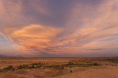 Ozn clouds in Morocco Africa Stock Photography