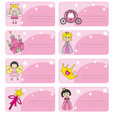 Oznacza princesses Zdjęcie Royalty Free